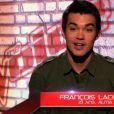 François Lachance dans The Voice 3 sur TF1 le samedi 15 février 2014