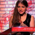 Jacynthe dans The Voice 3 sur TF1 le samedi 15 février 2015