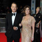 Tom Hanks, Christian Bale... Perdants réconfortés par leurs amoureuses aux BAFTA