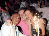 PHOTOS : Anniversaire de mariage pour Eddy Mitchell à Saint-Trop' !