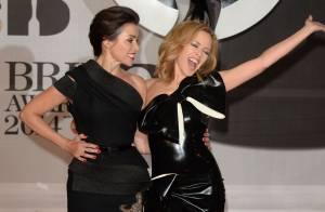 Brit Awards 2014 : Kylie, Dannii Minogue et Rita Ora sortent le grand jeu