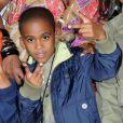 Kyle Glover, regretté beau-fils d'Usher, en juillet 2008 aux Nickelodeon Kids Choice Awards.