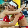Kerri Walsh-Jennings et Misty May-Treanor ont décroché le 8 août 2012 aux JO de Londres une troisième médaille d'or consécutive dans le tournoi olympique de beach-volley.