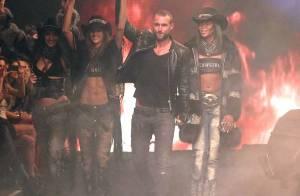 Fashion Week : Naomi Campbell, sexy en cow-boy pour Philipp Plein