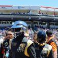 Le groupe Daft Punk au Grand Prix de Monaco le 26 mai 2013