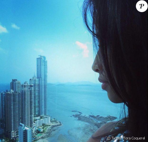 Flora Coquerel emballée par son séjour au Panama
