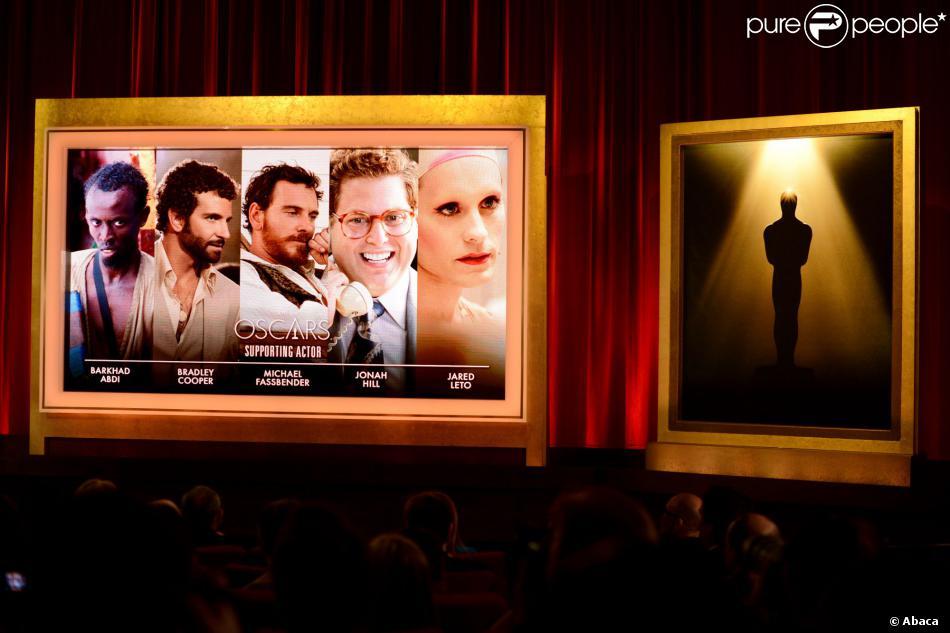 Les 5 acteurs nommés à l'Oscar du meilleur acteur dans un second rôle.