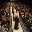 Défilé Givenchy par Riccardo Tisci automne-hiver 2014-2015, à la Halle Freyssinet. Paris, le 2 mars 2014.