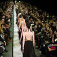 Défilé Givenchy automne-hiver 2014-15 à la Halle Freyssinet. Paris, le 2 mars 2014.