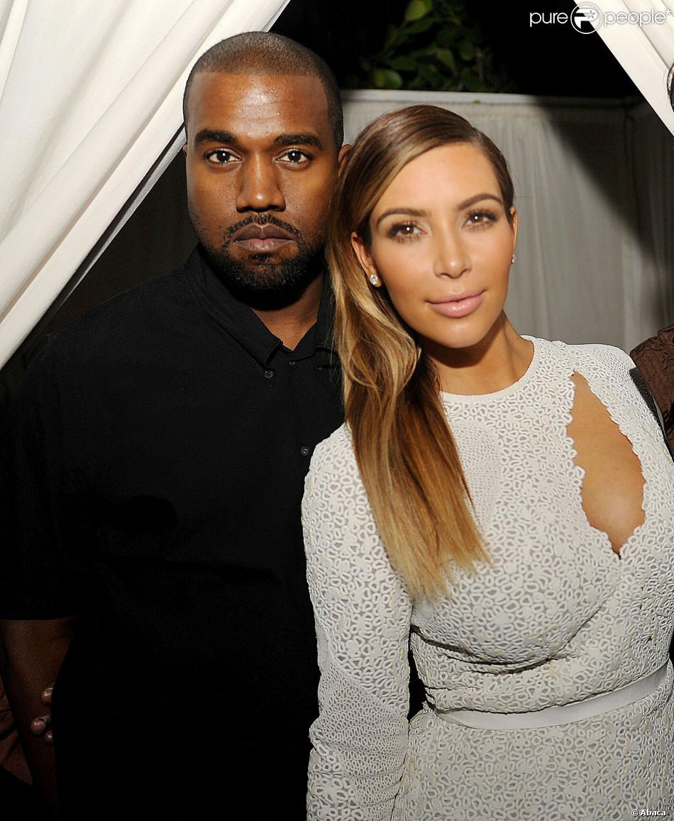 Kanye West et Kim Kardashian à la soirée Dujour Magazine's à Miami, le 4 décembre 2013.