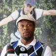 Sylvain Wiltordlors de la première Footgolf Cup 2014 au golf de Feucherolles en France le 5 mars 2014.
