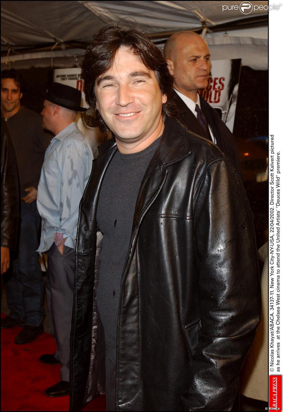 Scott Kalvert le 23 avril 2002 à l'avant-première de son film Deuces Wild à New York.