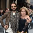 Russell Brand and mother arriving at the European Premiere of Rock of Ages, Odeon Cinema, leicester Square, London, UK, Sunday June 10, 2012. Photo by Doug Peters/PA Photos/ABACAPRESS.COM11/06/2012 - London