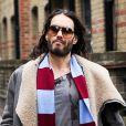 Exclusif - Russell Brand dans les rues de Londres, le 17 novembre 2013.