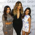 Kim, Khloé et Kourtney Kardashian célèbrent l'inauguration de la boutique DASH. Miami, le 12 mars 2014.