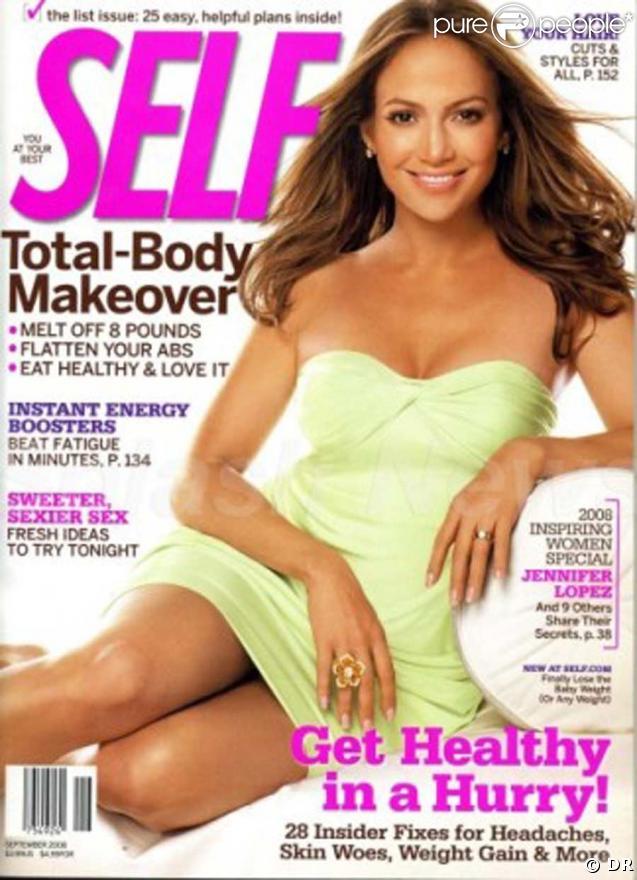 Jennifer Lopez fait la couverture du magazine Self
