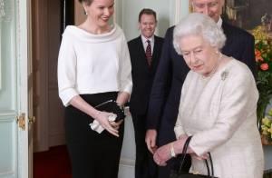 Philippe de Belgique et Mathilde : Rencontre éclair avec la reine Elizabeth II