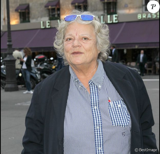 Josée Dayan lors du cocktail de rentrée de TF1 à Paris le 13 septembre 2010