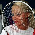 """Tatiana Laurens-Delarue lors d'une journée avec l'association """"Enfant Star & Match"""" au Tennis Club de Paris le 17 mars 2014"""