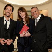 Carla Bruni : Précieuse escapade italienne avec Adrien Brody
