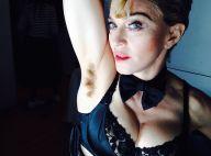 Madonna : En lingerie, l'aisselle velue... la star se laisse aller