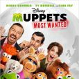 Affiche du film Muppets Most Wanted.