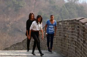 Michelle Obama en Chine avec ses filles : Tourisme à gogo et opération séduction