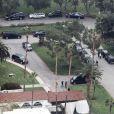 Les obsèques de L'Wren Scott, retrouvée pendue chez elle le 17 mars 2014, se sont déroulées au cimetière Hollywood Forever à Hollywood, le 25 mars 2014.