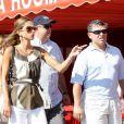 La reine Rania et le roi Abdallah de Jordanie