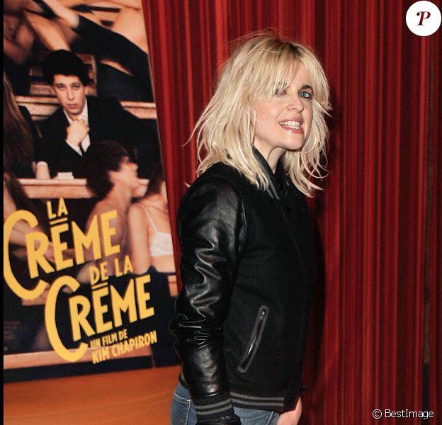 """Cécile Cassel à la première du film """"La crème de la crème"""" à Paris le 27 mars 2014."""