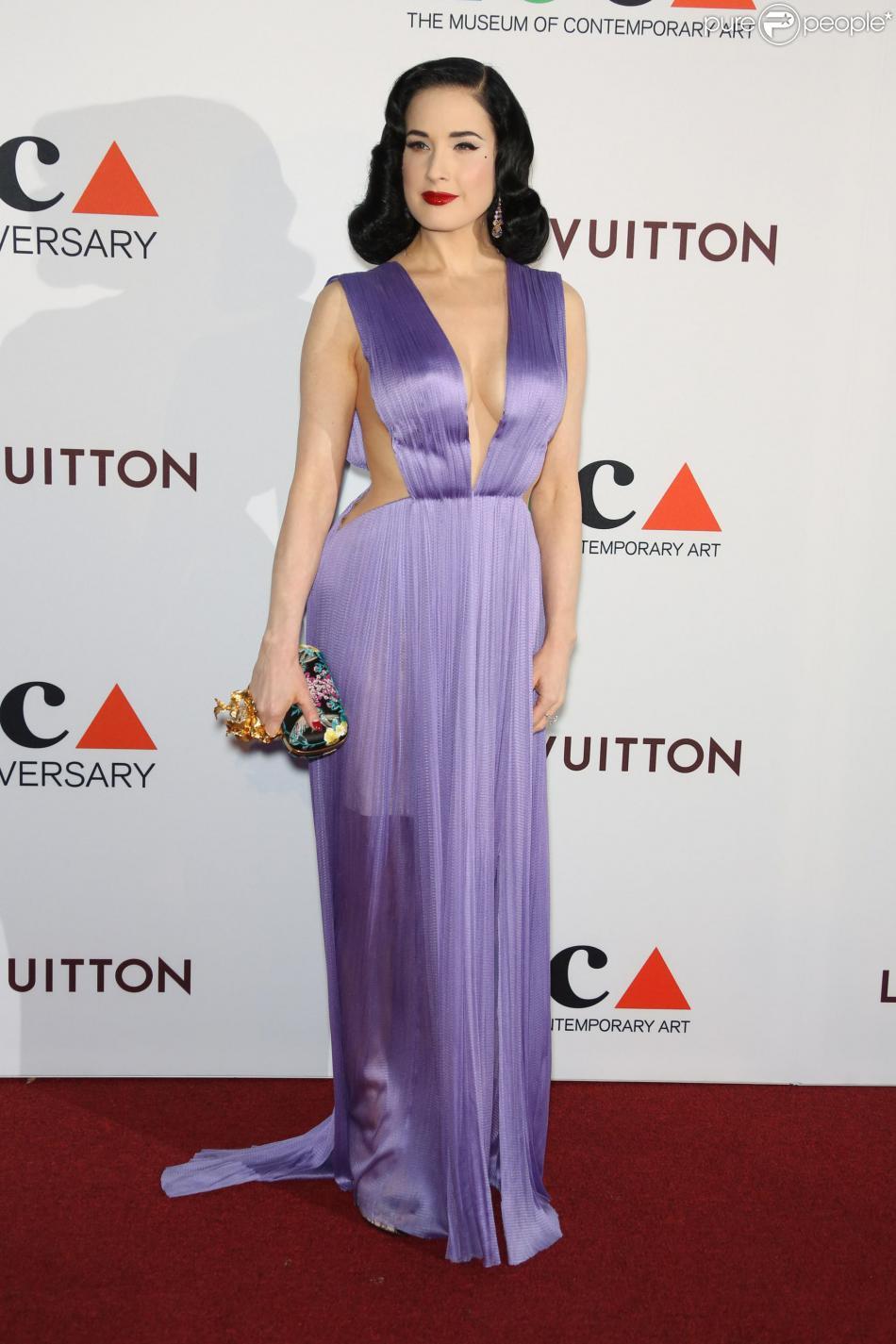 """35ème """"Moca Gala"""" à Los Angeles, le 29 mars 2014."""