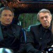 Michel Drucker et Salvatore Adamo, déguisés en Daft Punk, piègent la télé belge