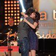 Aymeric Caron et Nolwenn Leroy enregistrent l'émission du Sidaction 2014, les 24 et 25 mars 2014 au théâtre Mogador à Paris (diffusion le 5 avril 2014).