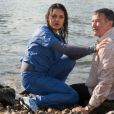 Mila Kunis et Robin Williams dans The Angriest Man in Brooklyn.