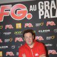 Joachim Garraud à la soirée annuelle organisée par Radio FG au Grand Palais, à Paris, le jeudi 3 avril 2014.