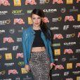 Tara McDonald à la soirée annuelle organisée par Radio FG au Grand Palais, à Paris, le jeudi 3 avril 2014.
