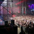 Grosse ambiance à la soirée annuelle organisée par Radio FG au Grand Palais, à Paris, le jeudi 3 avril 2014.