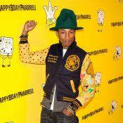 Pharrell Williams : Ses 41 ans avec Bob l'éponge, Alicia Keys et Swizz Beatz