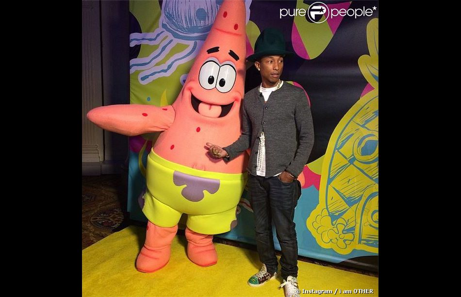 Patrick l 39 toile de mer et pharrell williams new york - Patrick l etoile ...