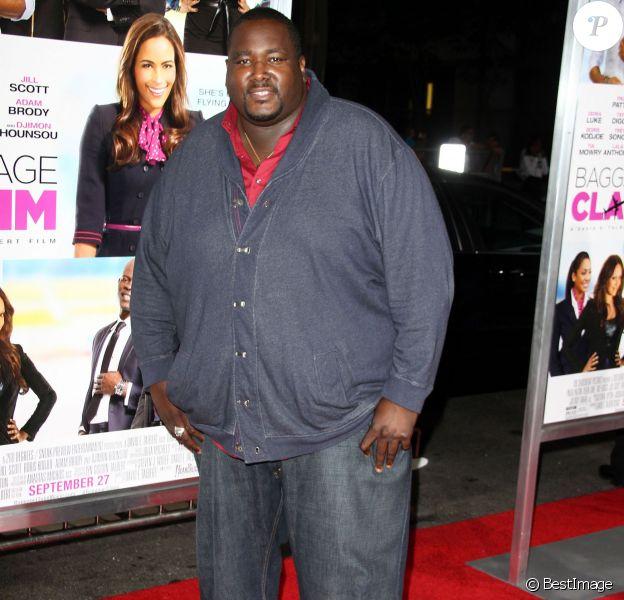 """Quinton Aaron - Première du film """"Baggage Claim"""" à Los Angeles, le 25 septembre 2013."""