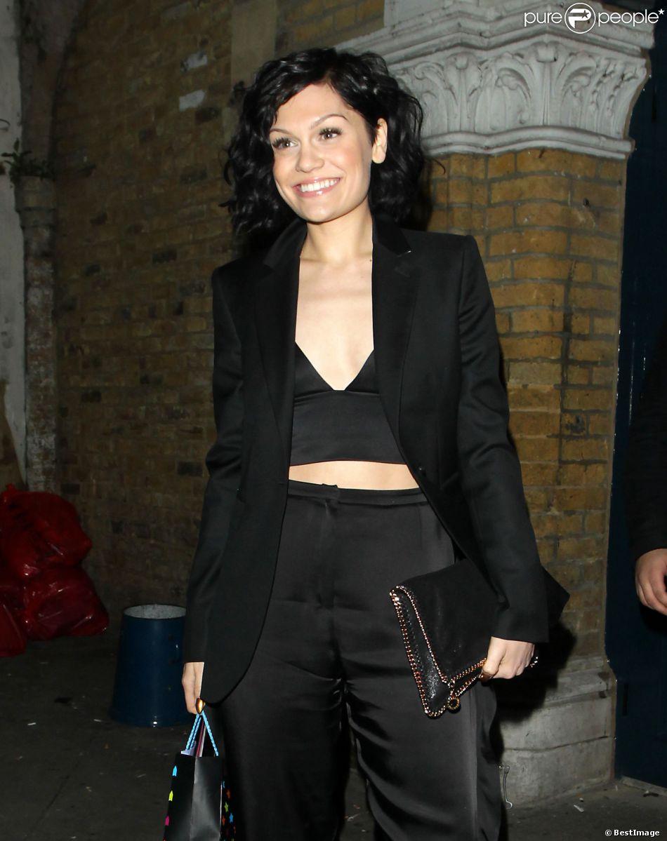 La chanteuse Jessie J a fêté son 26e anniversaire au club Oslo à Londres. Le 27 mars 2014.