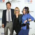 David Arquette, Rosanna Arquette et Alexis Arquette lors de l'ouverture du festival du film indien 2014 aux ArcLight Cinemas à Hollywood, le 8 avril 2014.