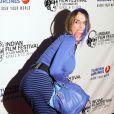 Alexis Arquette lors de l'ouverture du festival du film indien 2014 aux ArcLight Cinemas à Hollywood, le 8 avril 2014.