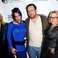 David Arquette, Rosanna Arquette, Alexis Arquette, Richmond Arquette et Patricia Arquette lors de l'ouverture du festival du film indien 2014 aux ArcLight Cinemas à Hollywood, le 8 avril 2014.