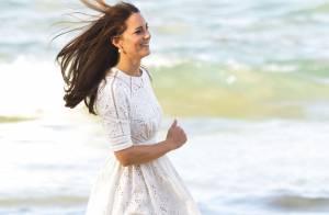 Kate Middleton : Sirène en dentelle à la plage, après avoir 'pleuré un bon coup'