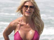 Victoria Silvstedt : Irrésistible et hot en bikini, la bombe s'éclate à Miami