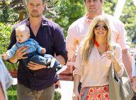 Fergie et Josh Duhamel : Radieux et stylés avec Axl pour célébrer Pâques