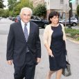 Dominique Strauss-Kahn et Anne Sinclair à Washington, le 29 août 2011.