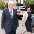 Dominique Strauss-Kahn et Anne Sinclair à Washington, le 29 août 2011.