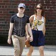 Daniel Radcliffe et Rosie Coker à New York le 18 août 2011